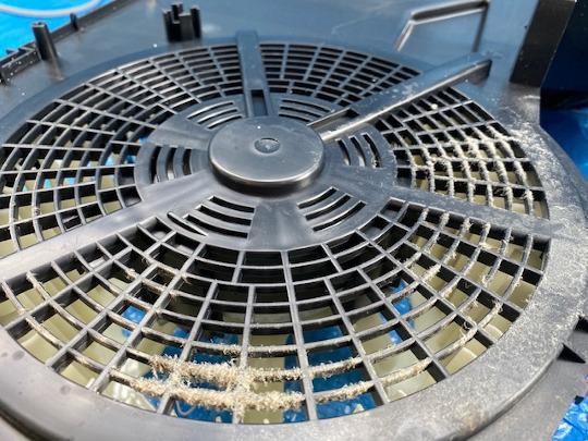 加湿空気清浄機クリーニング