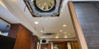 【川崎市多摩区三田】日立製業務用エアコンクリーニング2台